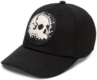 Alexander McQueen skull patch cap