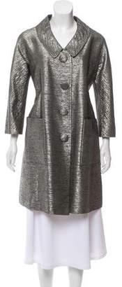 Chloé Metallic Knee-Length Coat
