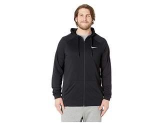 Nike Big Tall Dry Training Full Zip Hoodie