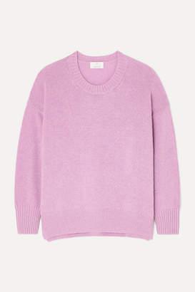 Allude Cashmere Sweater - Purple