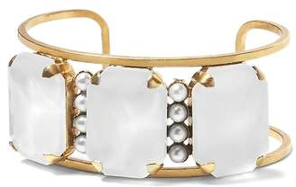 Banana Republic Elizabeth Cole | Pearl and Stone Bracelet