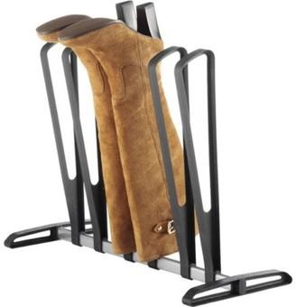 Whitmor 3-Pair Boot Rack Black