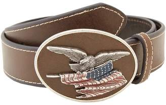M&F Western Eagle Flag Patriotic Flag Buckle Belt Men's Belts