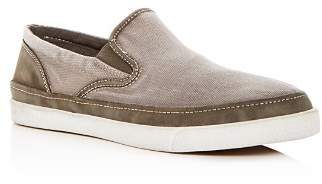 John Varvatos Men's Distressed Slip-On Sneakers