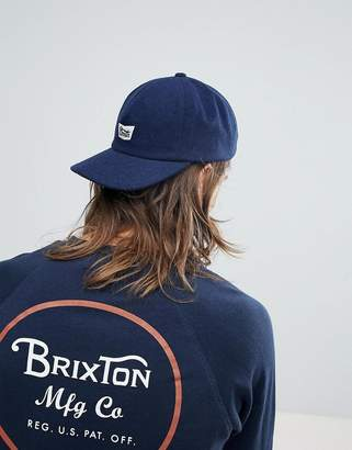 Brixton Stith 5 Panel Cap With Logo