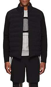 """Aztech Mountain Men's """"Dale Of Aspen"""" Down-Quilted Sweater Jacket-Black"""