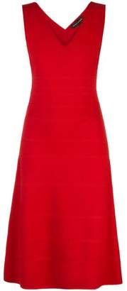 7ad94225789 Narciso Rodriguez x The Conservatory knitted V-flared dress
