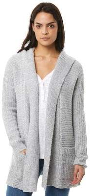 Volcom New Women's Homeward Bound Sweater Wool Elastane White