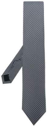 Salvatore Ferragamo 3D Gancio print tie