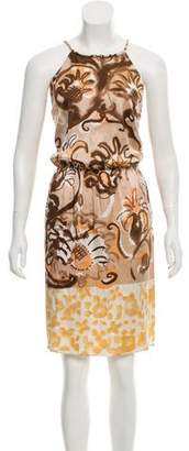 Emilio Pucci Sleeveless Silk Dress