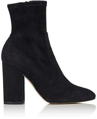 Valentino Women's Stretch-Suede Ankle Boots