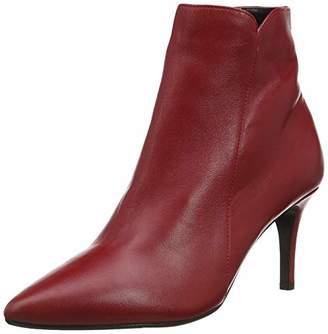 Dune Women's Onestt Ankle Boots, Red, 4 (37 EU)