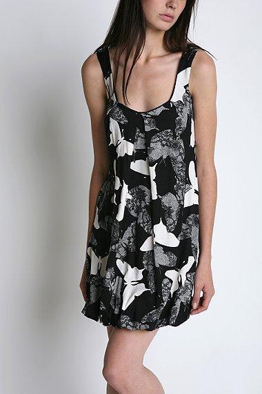 Silence & Noise Printed Bubble Dress