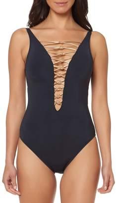 Bleu Rod Beattie BLEU by Rod Beattie One-Piece Swimsuit