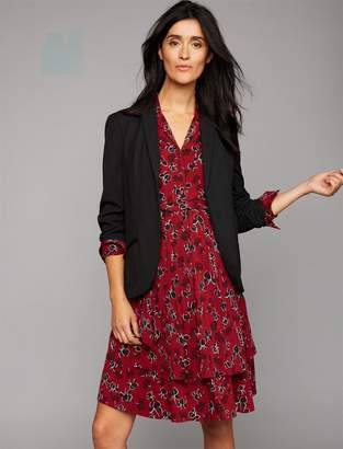 A Pea in the Pod Open Front Suiting Maternity Blazer