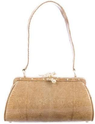 Kieselstein-Cord Lizard Frame Bag