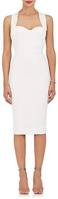 Victoria Beckham Women's Crossover-Back Sheath Dress