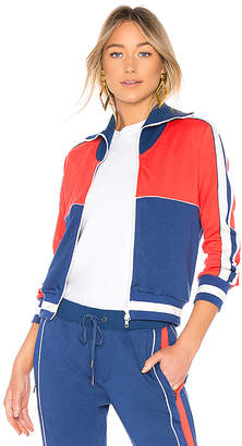 Pam & Gela Colorblock Slim Track Jacket