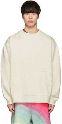 Dries Van Noten Off-White Holford Kangaroo Sweatshirt