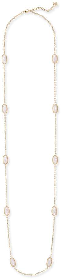 Kendra Scott Kellie Long Necklace in Gold