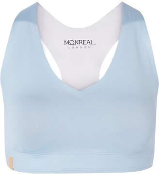 Monreal London Essential Stretch Sports Bra - Sky blue