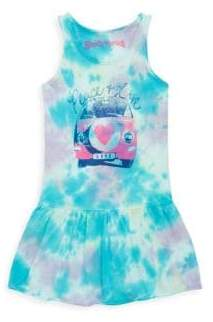 Rowdy Sprout Toddler's, Little Girl's & Girl's Peace N Love Tie-Dye Dress