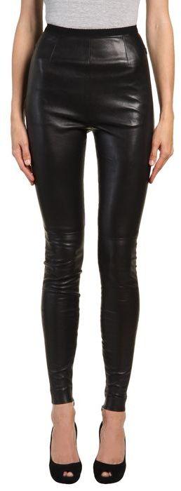 MAISON MARTIN MARGIELA Leather pants