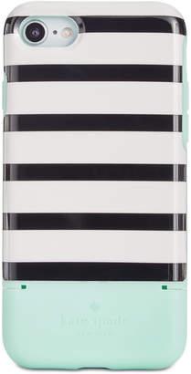 Kate Spade Stripe Credit Card iPhone 7/8 Case