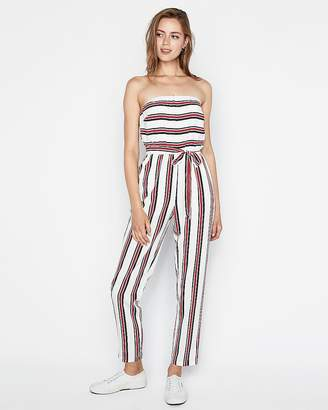 a2de09aad848 Express Strapless Tapered Leg Jumpsuit