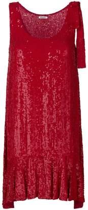 P.A.R.O.S.H. ruffle-trim flared dress