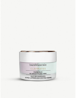 bareMinerals Bare Minerals Claymates Mask Duo Be Bright Be Firm 58g