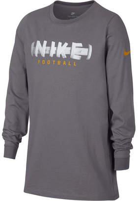 Nike Big Boys Football-Print Cotton T-Shirt