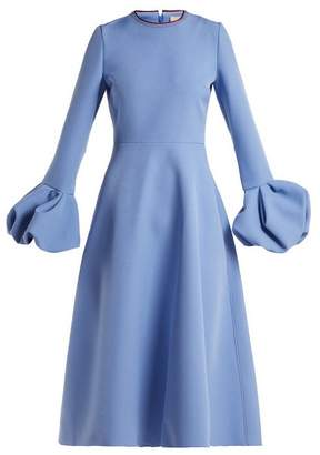 Roksanda Aylin A Line Dress - Womens - Blue