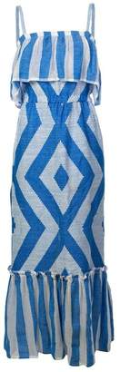 Lemlem Biruhi Long Tier Dress