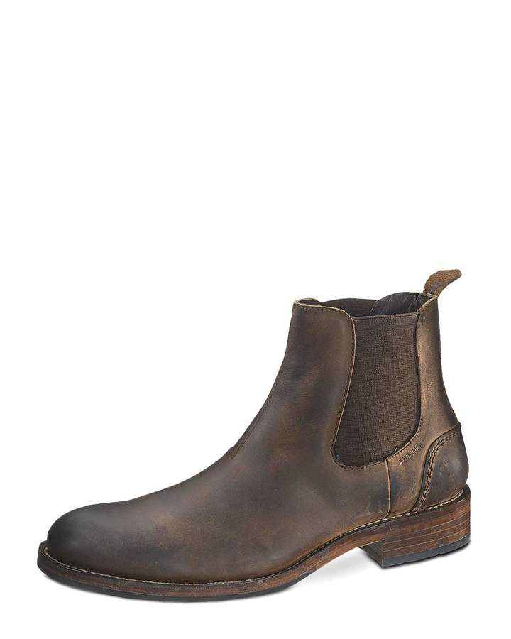 wolverine montague 1000 mile chelsea boot brown