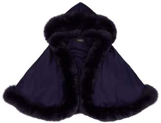 Harrods Leila Fox Fur Cape
