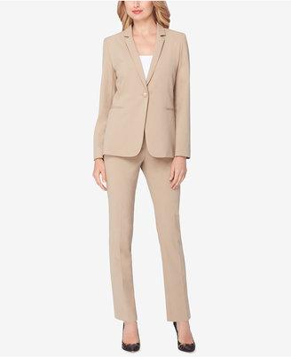 Tahari ASL Single-Button Pantsuit $280 thestylecure.com