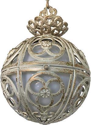 One Kings Lane Vintage Italian Globe Pendant