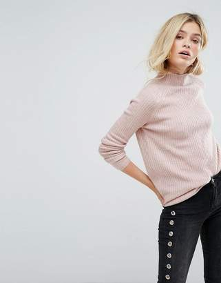 Only Long Sleeve High Neck Sweater