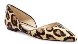 Sam Edelman Rodney Leopard Calf Hair Flats