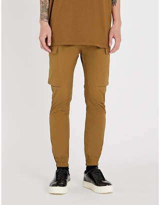 Rick Owens Cargo stretch-cotton jogging bottoms