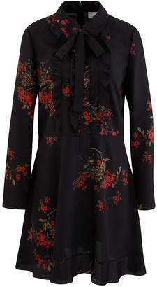 RED Valentino Flower Print short dress