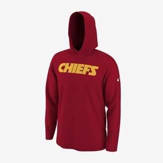 Nike Dri-FIT (NFL Chiefs) Men's Long-Sleeve Hooded Top