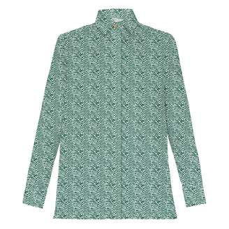 My Pair of Jeans - Patty Green Printed Shirt
