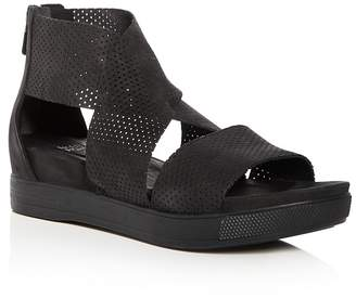 6a08f585a85 at Bloomingdale s · Eileen Fisher Women s Perforated Nubuck Leather  Crisscross Platform Sandals