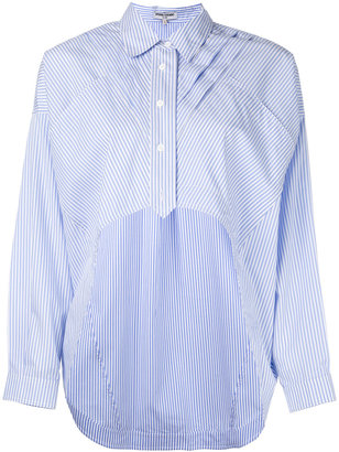 Opening Ceremony striped cropped shirt $429.81 thestylecure.com