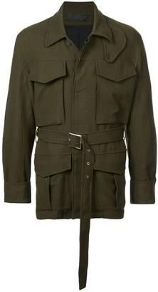 Haider Ackermann belted short jacket