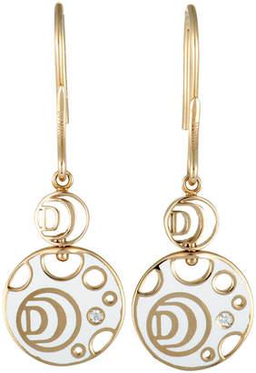 Damiani 18K Rose Gold Diamond Earrings