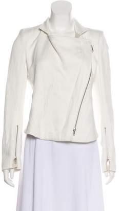 Ann Demeulemeester Asymmetrical Zip-Up Jacket
