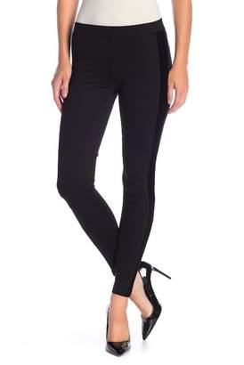 Tractr Velvet Side Panel Pull-On Pants